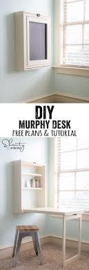 Convertible Desk Bed Best 25 Murphy Desk Ideas On Pinterest Murphy Table Fold Down