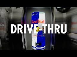 Drive Thru Vending Machine Delectable Red Bull Creates A DriveThru In An Office Elevator [Video