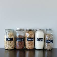 How To Decorate A Glass Jar Painted Chalk Labels For Your Glass Jars How To Decorate A 3
