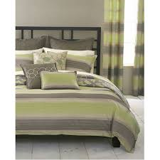 architecture gray and green comforter sets bryan keith st maarten 7 piece reversible twin set 5