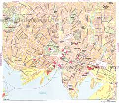 oslo map  detailed city and metro maps of oslo for download