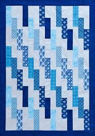 Best 25+ Strip quilts ideas on Pinterest   Strip quilt patterns ... & Regular Joe quilt, blue color option, from the American Patchwork & Quilting  June 2014 issue. Adamdwight.com