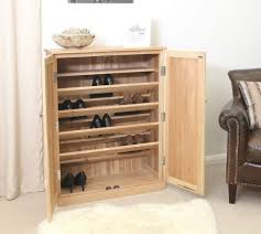 nara solid oak hidden home. Brilliant Oak Nara Solid Oak Hallway Patio Furniture Large Shoe Storage Cupboard Rack  Stunning Images In Hidden Home U