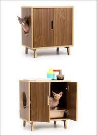 10 Ideas For Hiding Your Cats Litter Box // Don't sacrifice style for