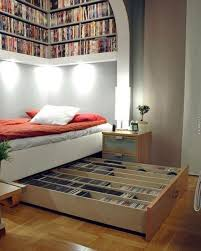 another way of overcoming dvd storage challenge is through the use of trank bed it offers space for storage of such stuff as dvd