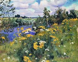 arkady rylov paintings for wild flowers