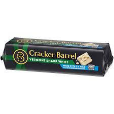 Cracker Barrel Light Cheese Cracker Barrel Vermont Sharp White Cheddar Cheese Block With