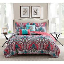 Teen Quilts For Less | Overstock.com & VCNY Home Casa Re'al Reversible 5-piece Quilt Set Adamdwight.com