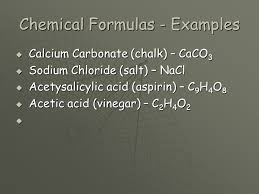 Chemical Symbols and Formulas. Chemical Symbols  All elements in ...