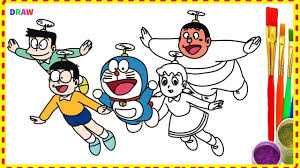 Fairy toonz is dedicated in nurturing young minds into being intellectuals. Doraemon And Friends Drawing And Coloring Doraemon Characters Cartoon Drawings Of Friends Love Coloring Pages Cartoon Coloring Pages