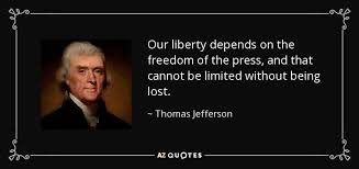 Freedom Of Press Quotes
