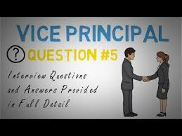 Assistant Principal Interview Questions And Answers Vice Principal Interview Question 5 Of 10 Youtube