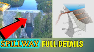 Shaft Spillway Design What Is Spillway Its Types Siphon Chute Side Channel And Hydraulic Jump Civil Tech Hindi