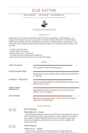 Ui/Ux Designer Resume samples
