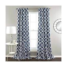 blue patterned curtains teawing co