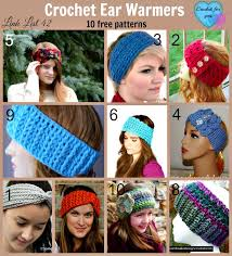 Free Crochet Ear Warmer Patterns