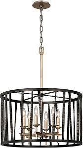 troy f5896 bastille modern pompeii silver and silver leaf drum pendant light fixture loading zoom
