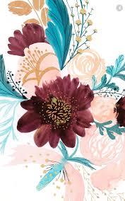 Flower wallpaper, Floral wallpaper ...