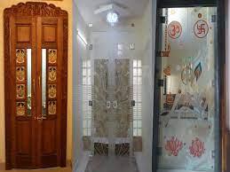 15 modern pooja room door designs with