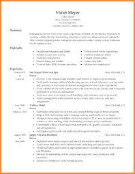 Waitress Resume Impressive Waitress Resume Examples Restaurant Waiter Resume Server Waitress