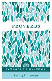 Proverbs Everyday Bible Commentary Paperback