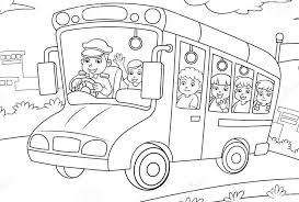 Small Picture School Bus Coloring Pages Bestofcoloringcom