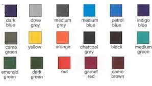 Raptor Liner Color Chart Spray On Liners