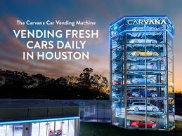 Carvana Houston Vending Machine Extraordinary Carvana car dealership in Houston TX 48 Kelley Blue Book