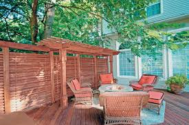 Decking Designs For Small Gardens Interesting Design Ideas For Outdoor Privacy Walls Screen And Curtains DIY