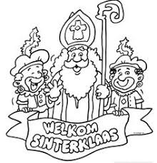 Sinterklaas Coloring Pages At Getdrawingscom Free For Personal