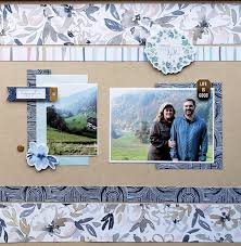 The ScrapRoom Blog: Pink Paislee Indigo & Ivy Page Kit Inspiration