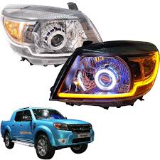 2009 Ford Ranger Fog Lights Details About Fit 2009 11 Ford Ranger Pk Ute Projector Front Head Light Lamp Genuine Parts L R