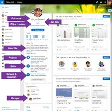 Delve Organization Chart Where Does The Profile Information Come From In Office 365
