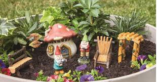 spruce up your garden with this essential garden fairy garden kit gnomes on at kmart for just 9 99 reg 19 99 is free on orders of 35