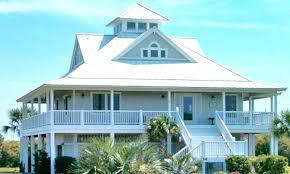 beach cottage house plans on pilings awesome small cott