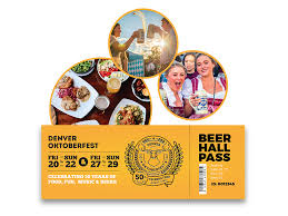 BEER HALL TICKET – Denver Oktoberfest