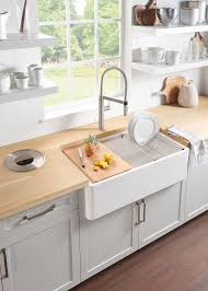 blanco white sink. Interesting White The New PROFINA 36u2033 Apron Front Sink Adds Modern Country Style To The  Kitchen On Blanco White Sink