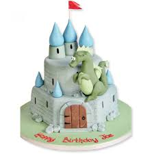 Dragons Castle Cake Birthday Cakes The Cake Store