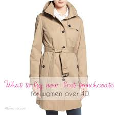 the best trench coats for women over 40 in s now 40plusstyle com