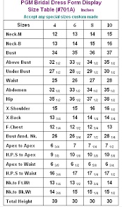 Davids Bridal Size Chart Fashion Dresses