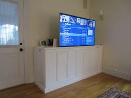 How To Make A TV Lift Cabinet Diy Tv And Hide Tv - Bedroom tv lift cabinet