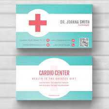 doctor template free download medical business card vector free download doctors business card