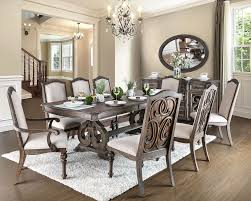 arcadia rustic natural tone extendable rectangular dining room set from furniture of america coleman furniture