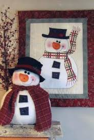 Winter Projects - Erica's Craft & Sewing Center & Image - Pattern Front, Chubby Snowman & Wall Quilt ... Adamdwight.com