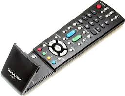sharp tv remote. sharp remote controls tv for most major brands. . we have been in business since 1987 and over 100,000 sharp tv