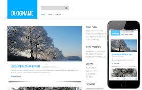 Blog Website Templates Custom Personal Blog A Blogging Category Flat Bootstrap Responsive Web