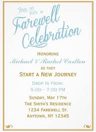 40 Farewell Party Invitation Templates PSDAiIndesignWord Interesting Farewell Pinterest