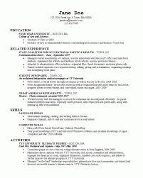 How To Put College On Resume Musiccityspiritsandcocktail Com