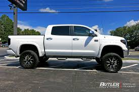 Toyota Tundra with 20in Fuel Maverick Wheels exclusively from ...
