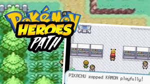 POKEMON HEROES PATH GBA ROM HACK WITH A NEW AND AMAZING STORY! WITH  DOWNLOAD LINK!